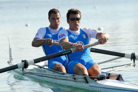 Italia S Coxed Pair 2+ F12